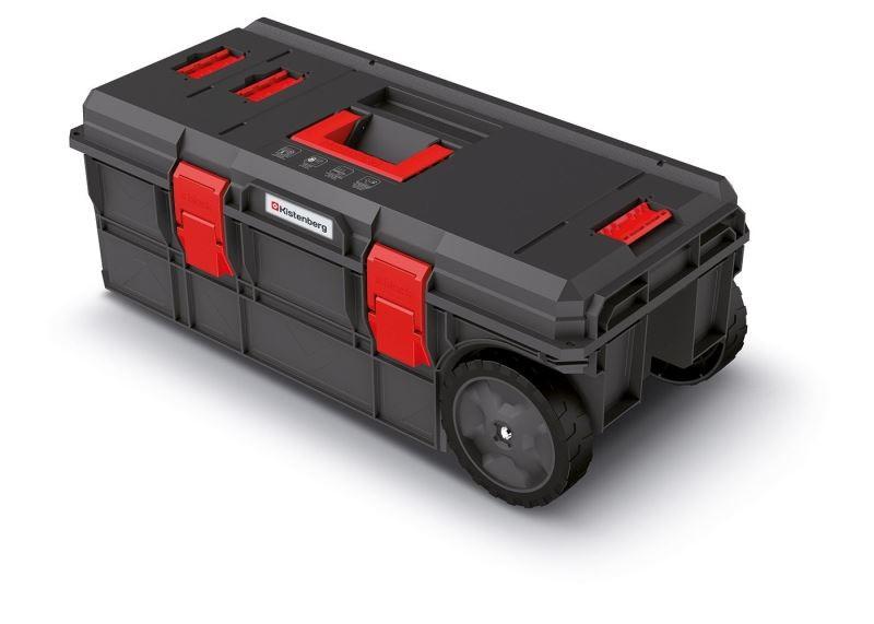 Kufr na nářadí X-BLOCK PRO 79,5x38x30,7 cm černo-červený