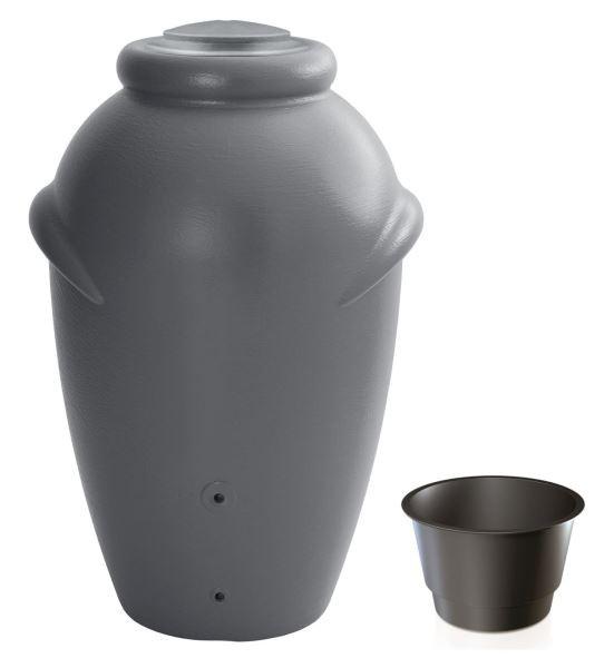 Sud na dešťovou vodu TUCAN šedý 360l