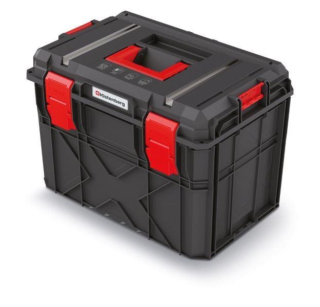Kufr na nářadí X-BLOCK TECH 54,6x38x40,7 cm černo-červený