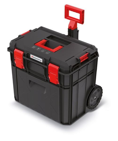 Kufr na nářadí X-BLOCK PRO 54,6x38x51 cm černo-červený