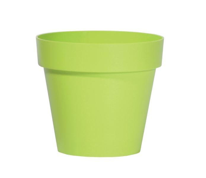 Květináč Cube Honely zelený