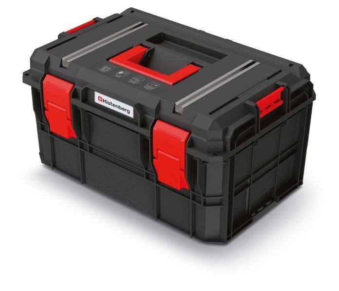 Kufr na nářadí X-BLOCK TECH 54,6x38x30,7 cm černo-červený