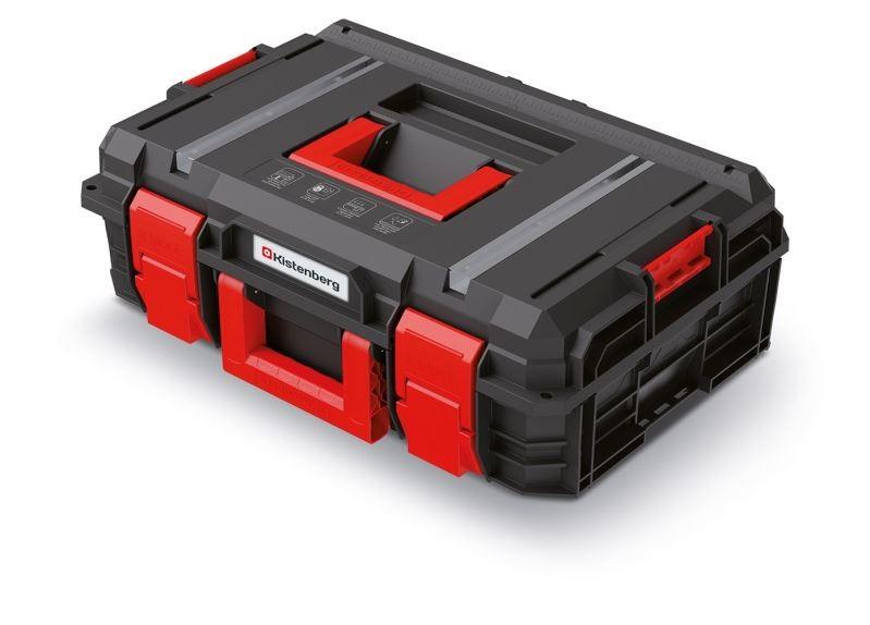Kufr na nářadí X-BLOCK TECH 54,6x38x19,4 cm černo-červený