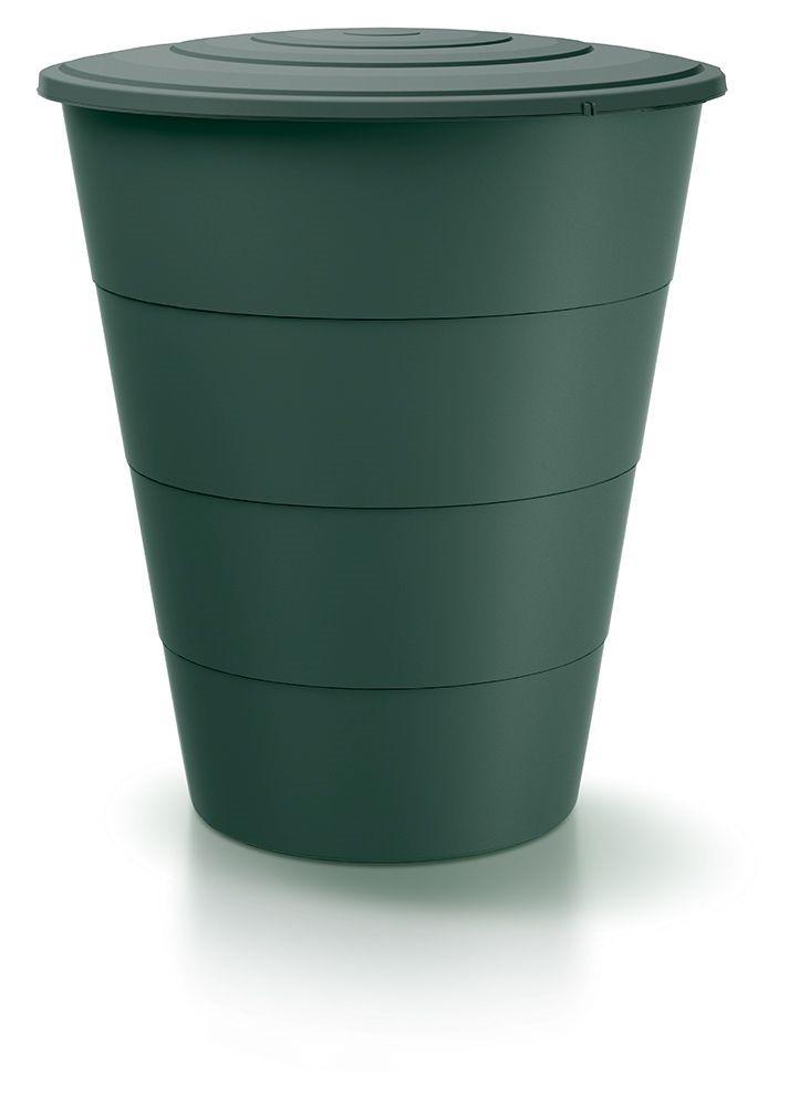 Sud na dešťovou vodu SMUDT tmavě zelený 210l