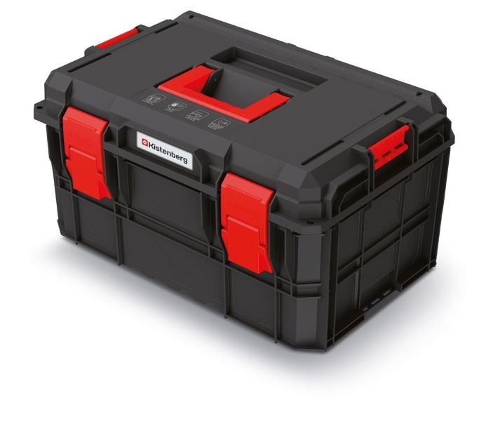 Kufr na nářadí X-BLOCK PRO 54,6x38x30,7 cm černo-červený
