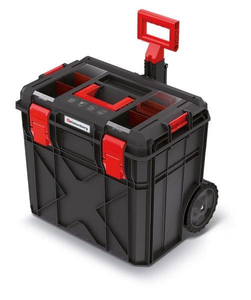 Kufr na nářadí X-BLOCK LOG II 54,6x38x51 cm černo-červený