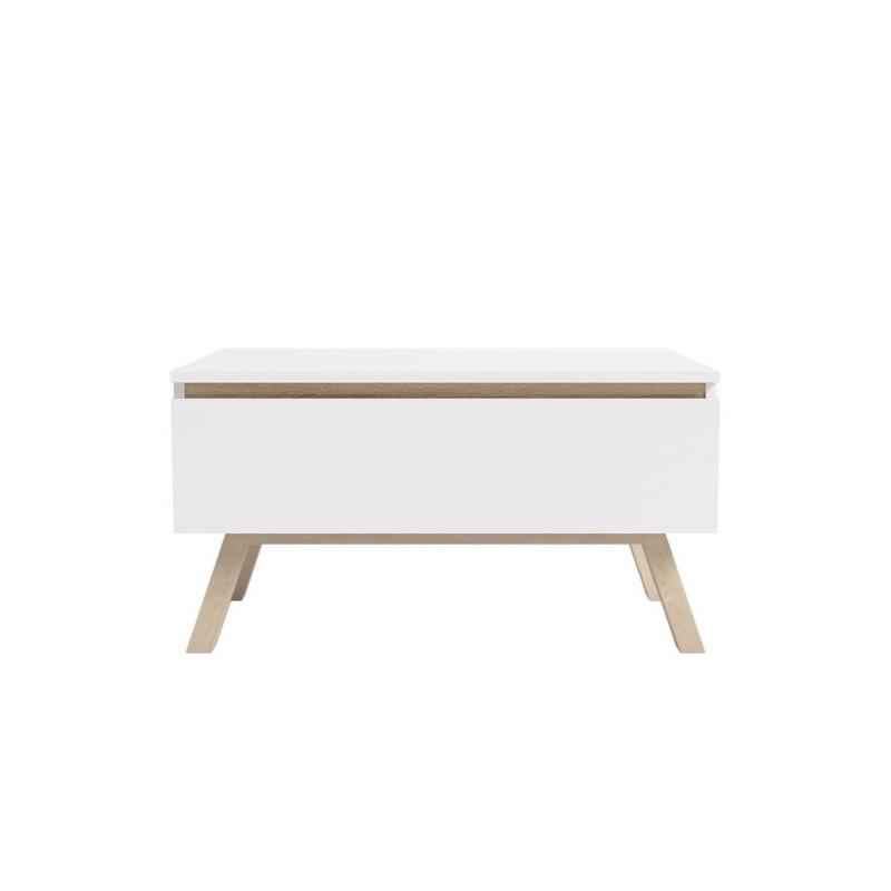 TV stolek Eryka RTV 60 cm bílý