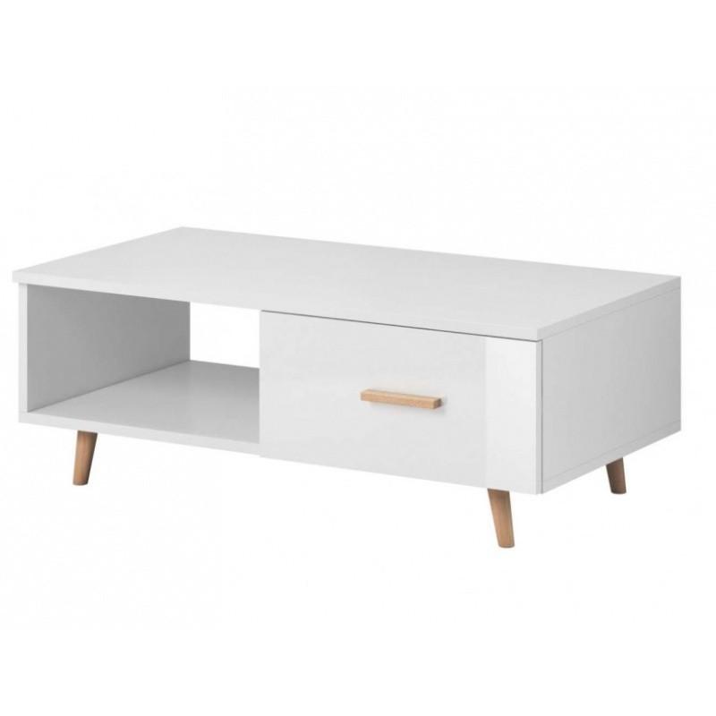 Konferenční stolek Nico XS 110 cm bílý