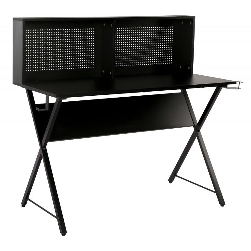 Psací stůl s magnetickou tabulí Giani 137 cm černé