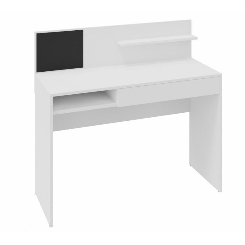 Psací stůl s magnetickou tabulí Magio 110 cm bílý