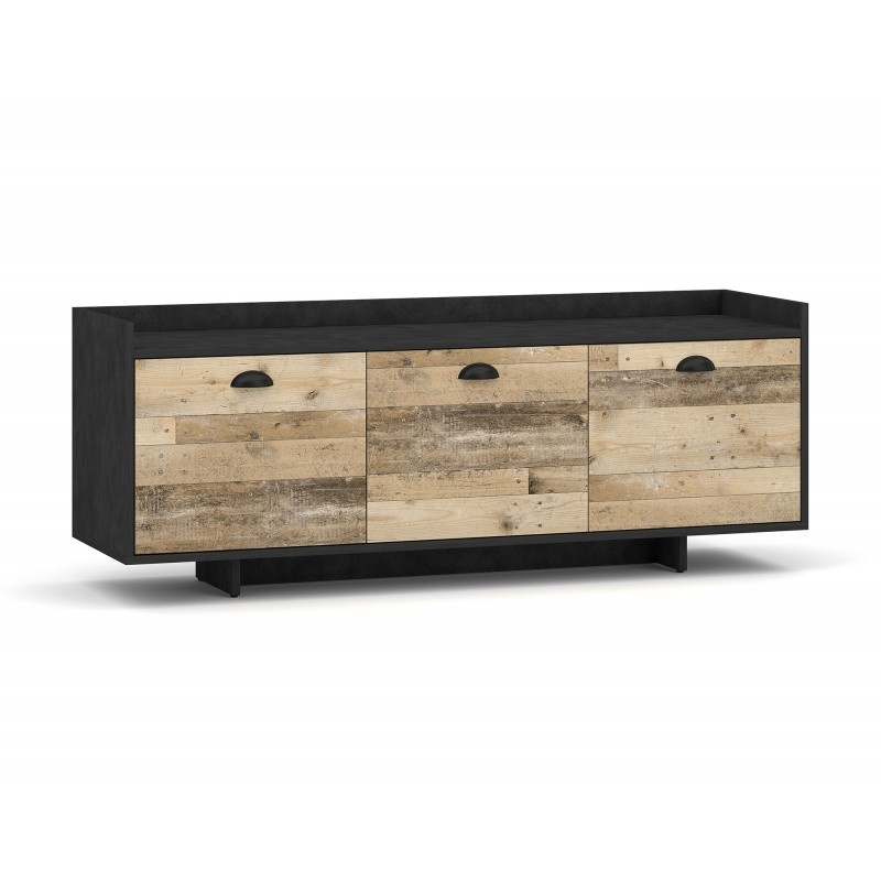 TV stolek Cup 140 cm černý