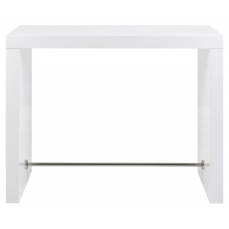 Barový stôl Bloter 130x60 cm biely