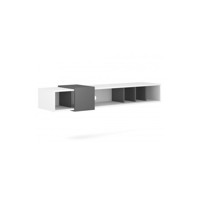 TV stolek Ronda bílý/antracit