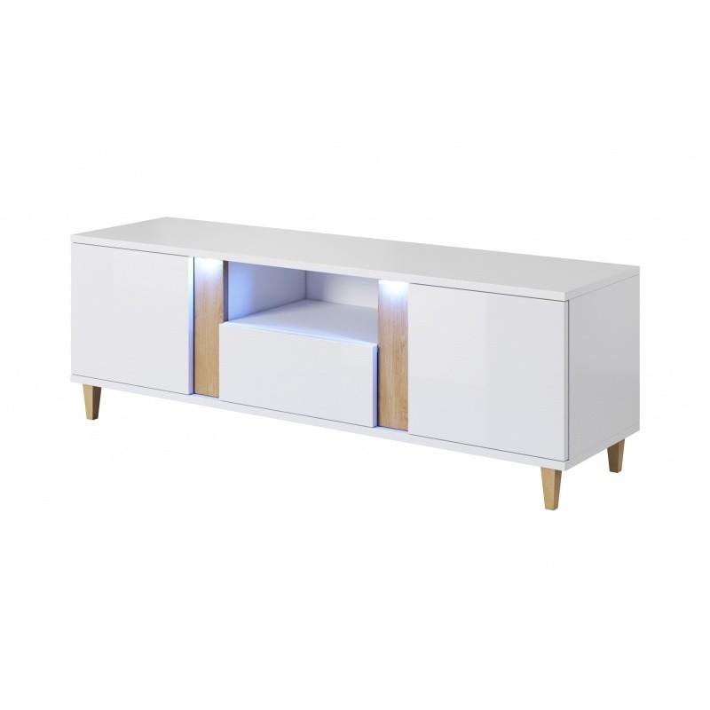 TV stolek Cruz RTV 150 cm bílý