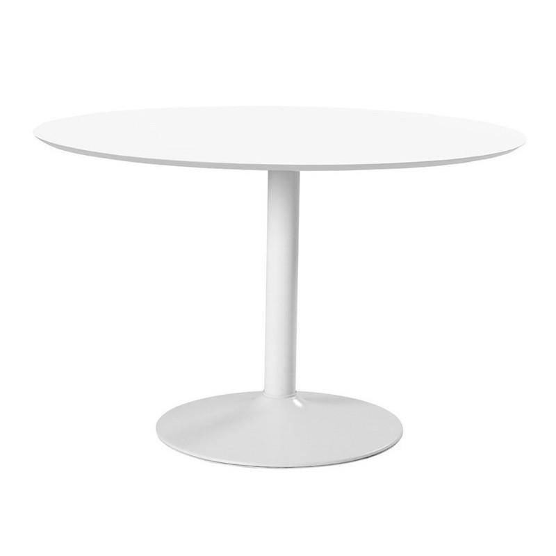 Jídelní stůl Ibiza 110 x 74 cm bílý