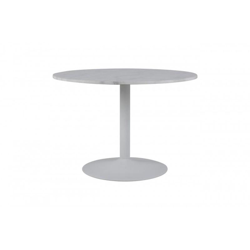 Kulatý stůl Tarifa 110 cm bílý