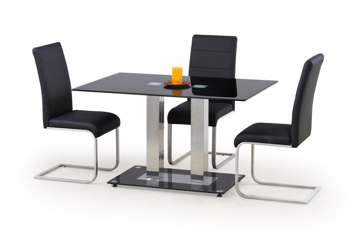 Jedálenský stôl Volt čierny