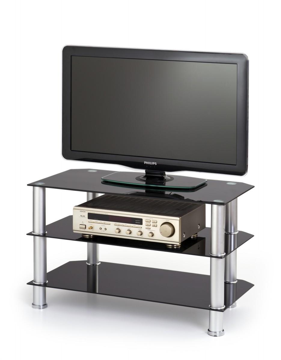 TV stolík Twenty RTV 80 cm čierny