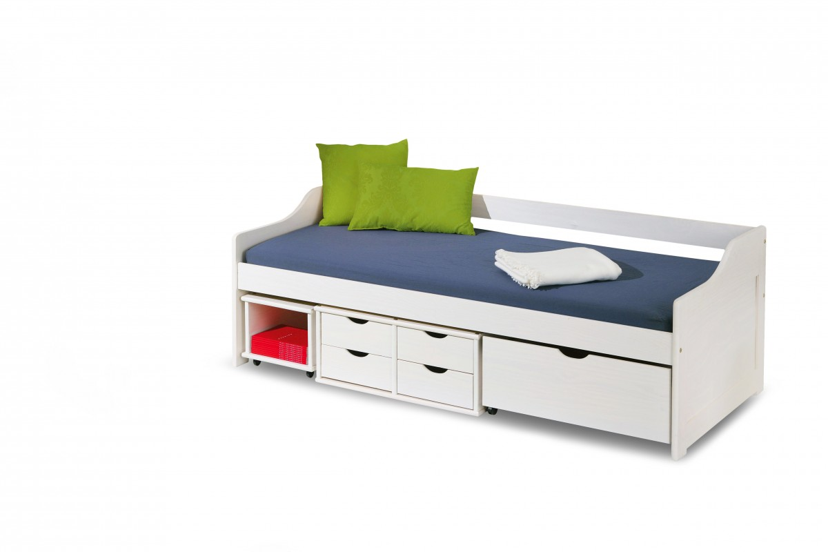 Dětská postel Floro 90x200 bílá