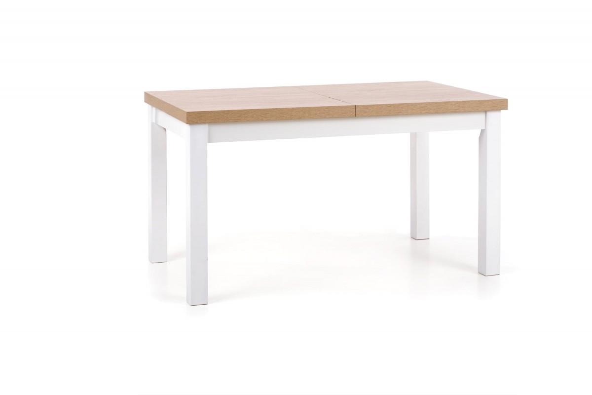 Rozkládací jídelní stůl Tiaro dub sonoma/bílá