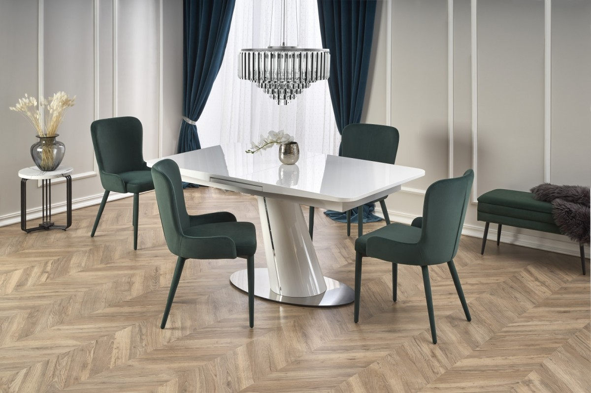 Rozkládací jídelní stůl Odense bílý