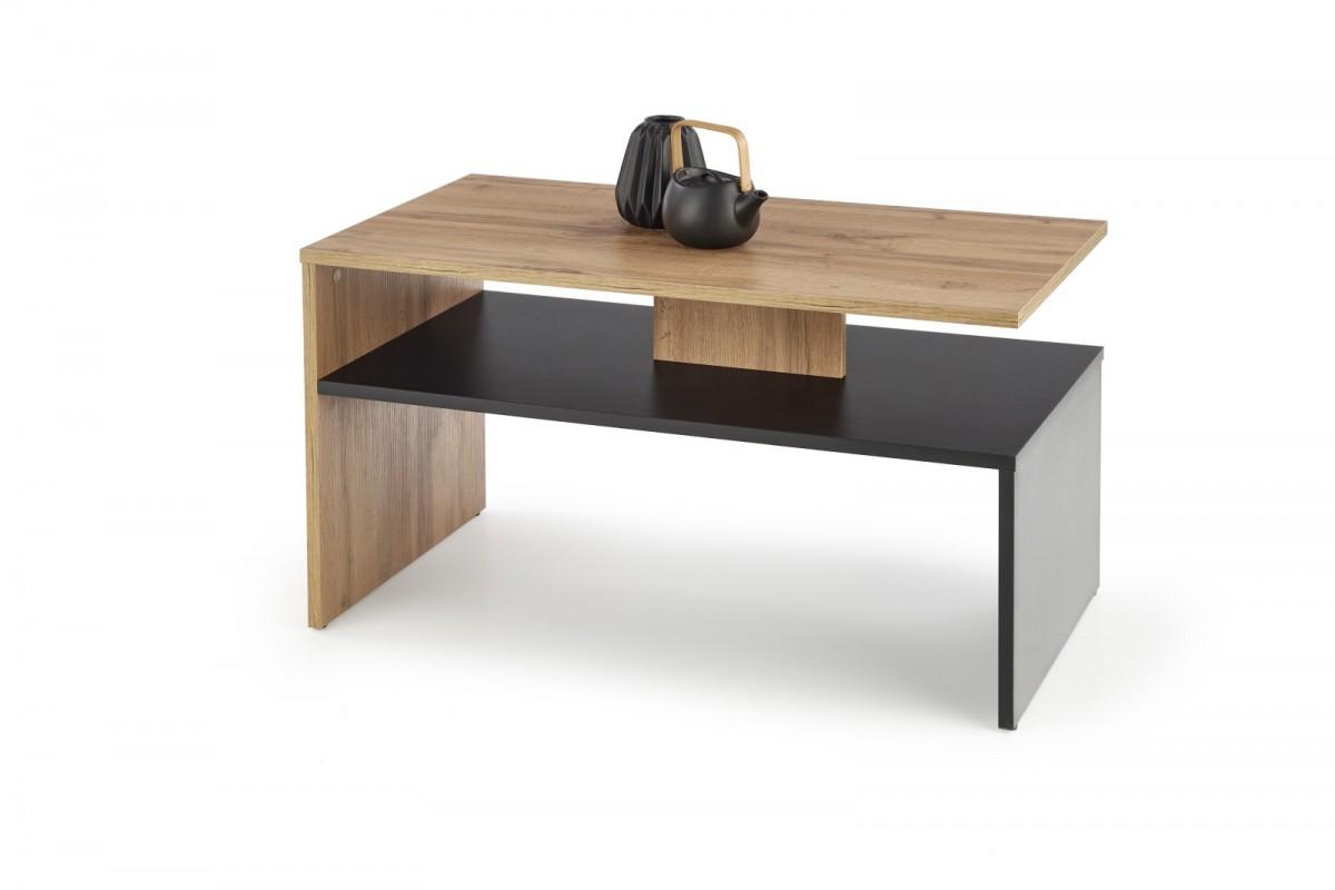 Konferenčný stolík Sigma dub votan / čierny