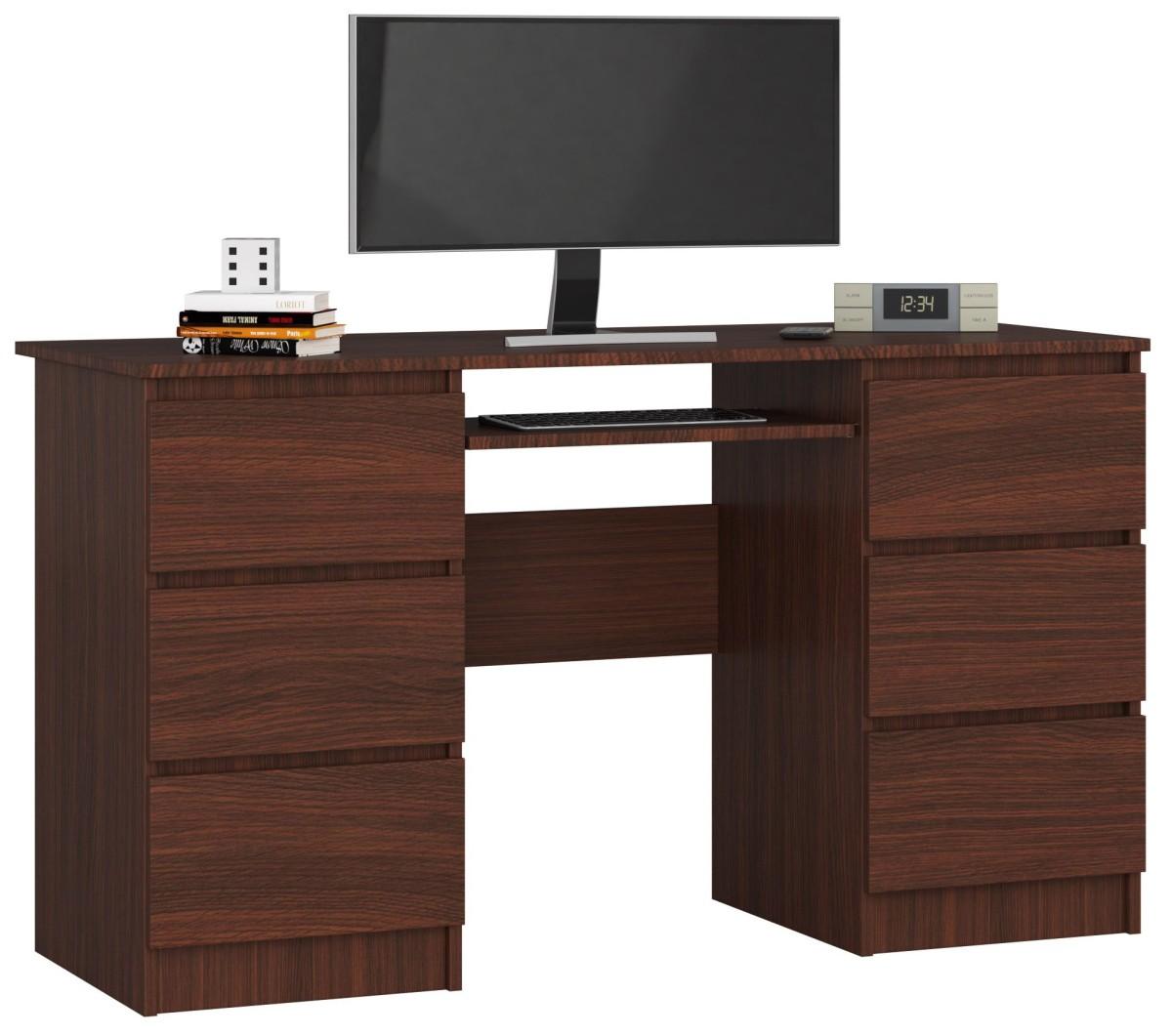 Písací stôl A-11 135 cm wenge
