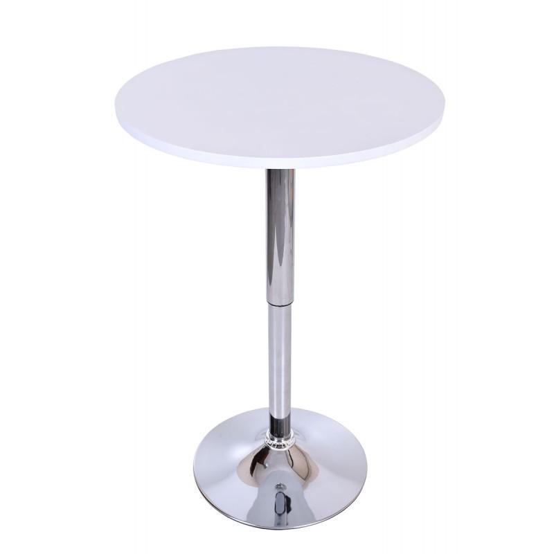 Barový stôl Rumba – biely