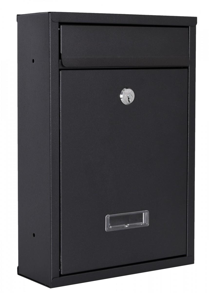Poštovní schránka Gustav černá