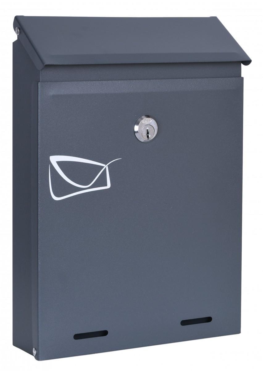 Poštovní schránka ODVIN antracitová