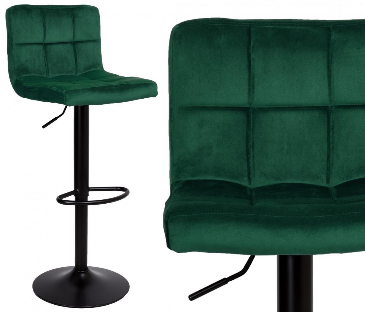 Barová židle Arako zelená