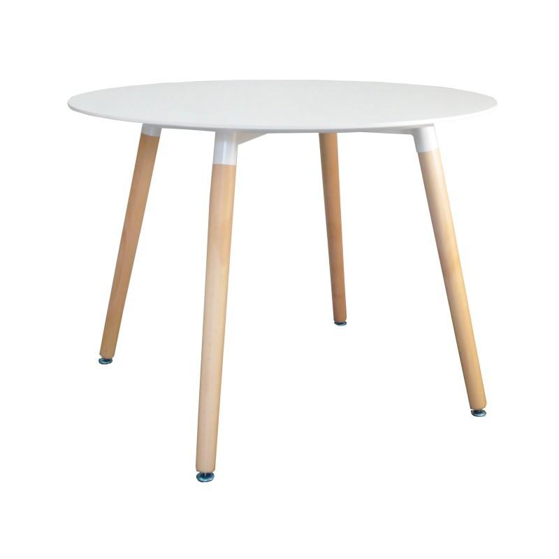 Konferenčný stolík Paris 100 cm - biely