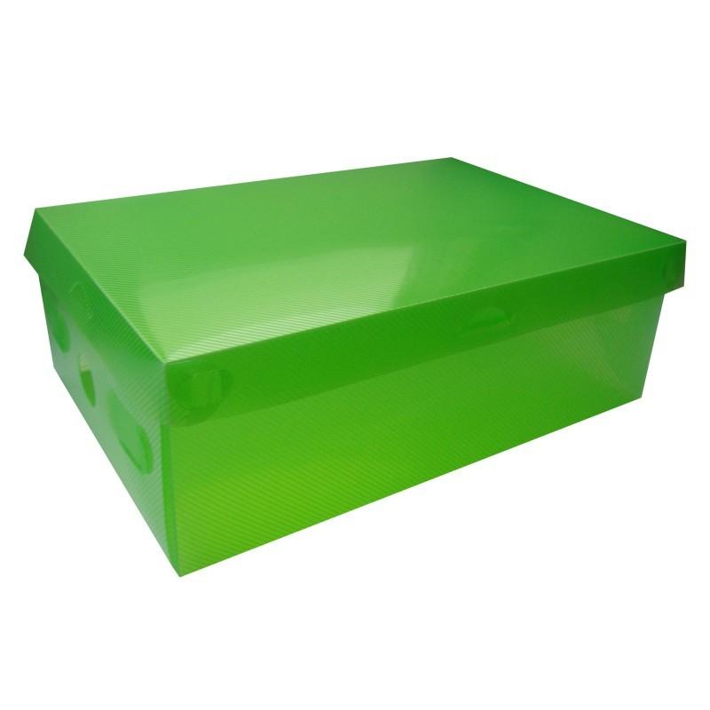 Úložná krabica na topánky veľ. S - zelená