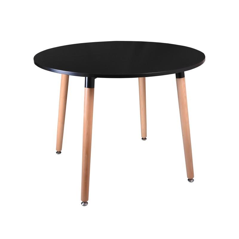 Konferenčný stolík Paris 100 cm - čierny