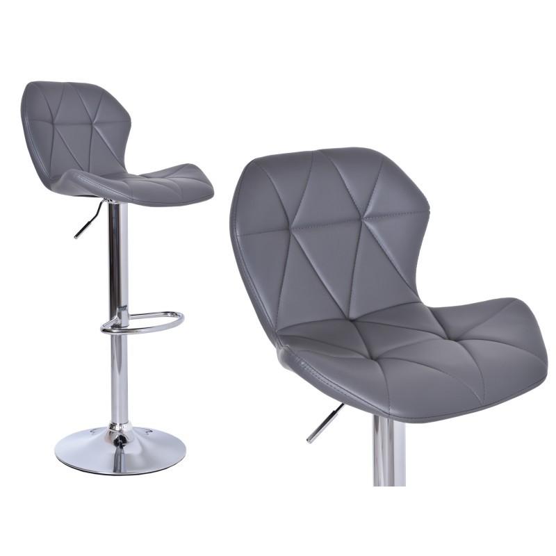 Barová židle Hoker Gordon - šedivá