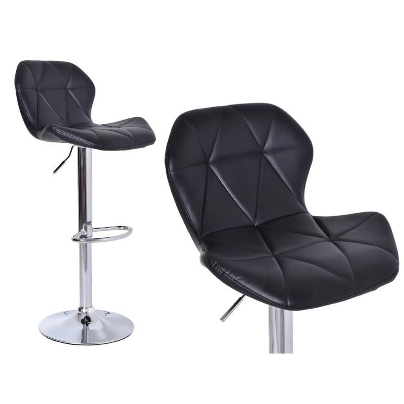 Barová židle Hoker Gordon - černá