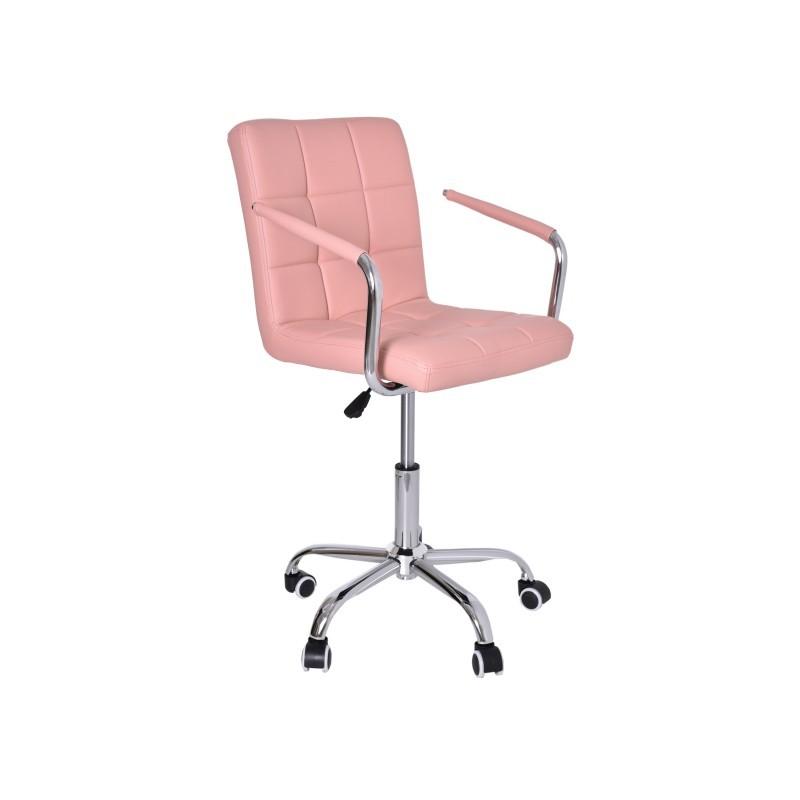Kancelárska stolička Ritmo ružová