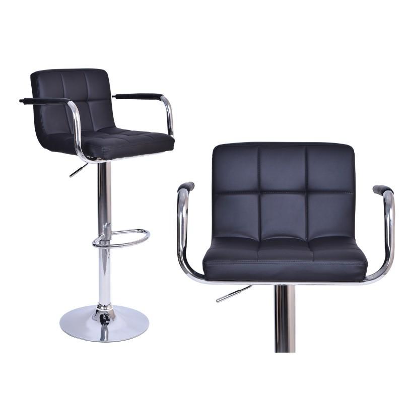 Barová židle Hoker Monte - černá