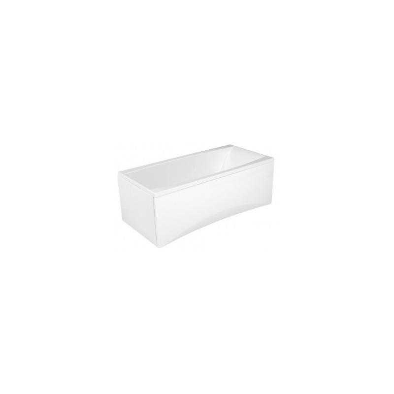 Obdélníková vana CERSANIT VIRGO 160x75 cm bílá