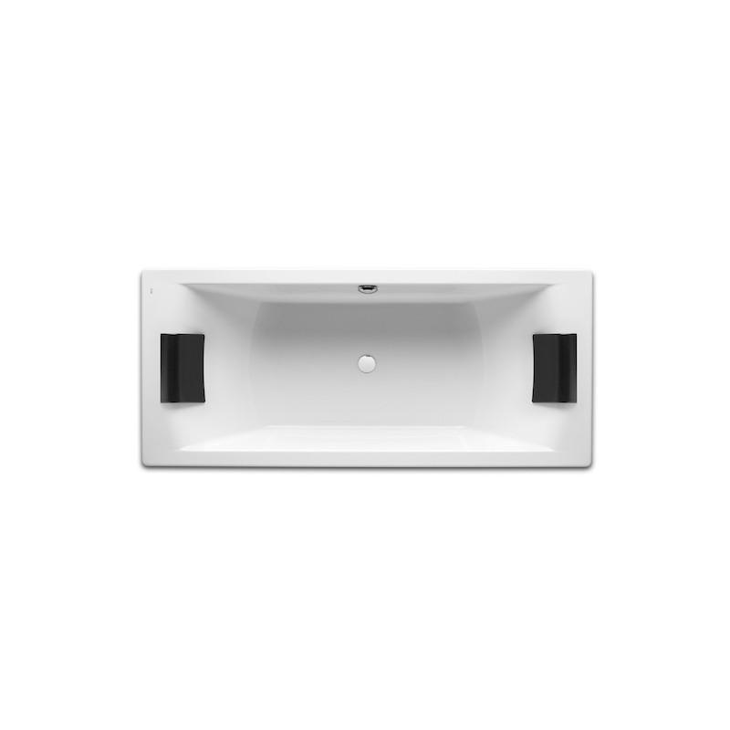 Obdélníková vana ROCA HALL 180x80 cm bílá