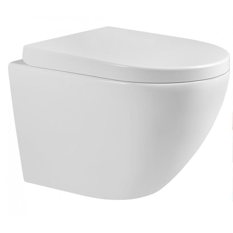 Závesná WC misa s tvrdou doštičkou MEXEN LENA biela