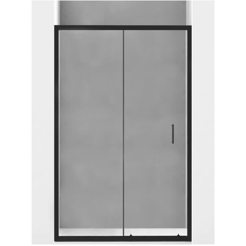 Sprchové dveře MEXEN Apia 115 cm černé