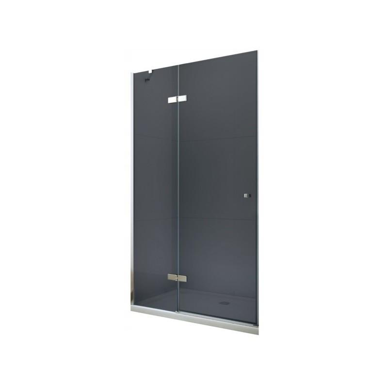 Sprchové dveře MEXEN ROMA šedé sklo 110 cm