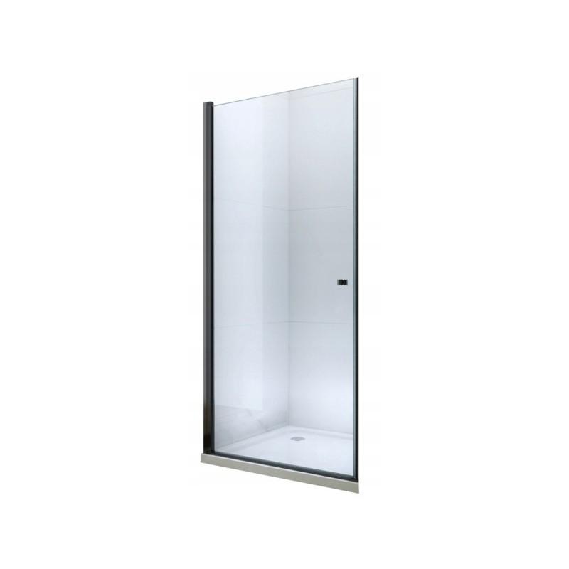 Sprchové dveře MEXEN PRETORIA černé 80 cm