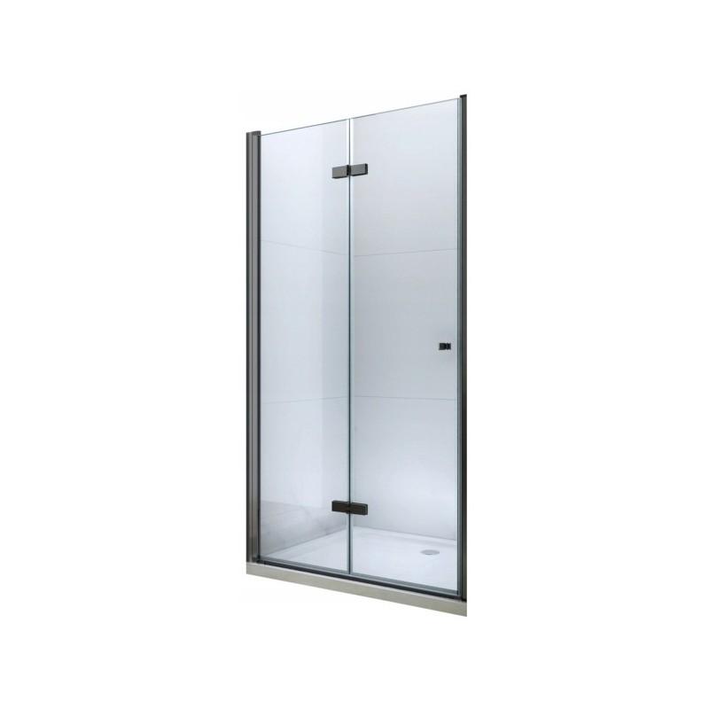Sprchové dveře skládané MEXEN LIMA černé 90 cm