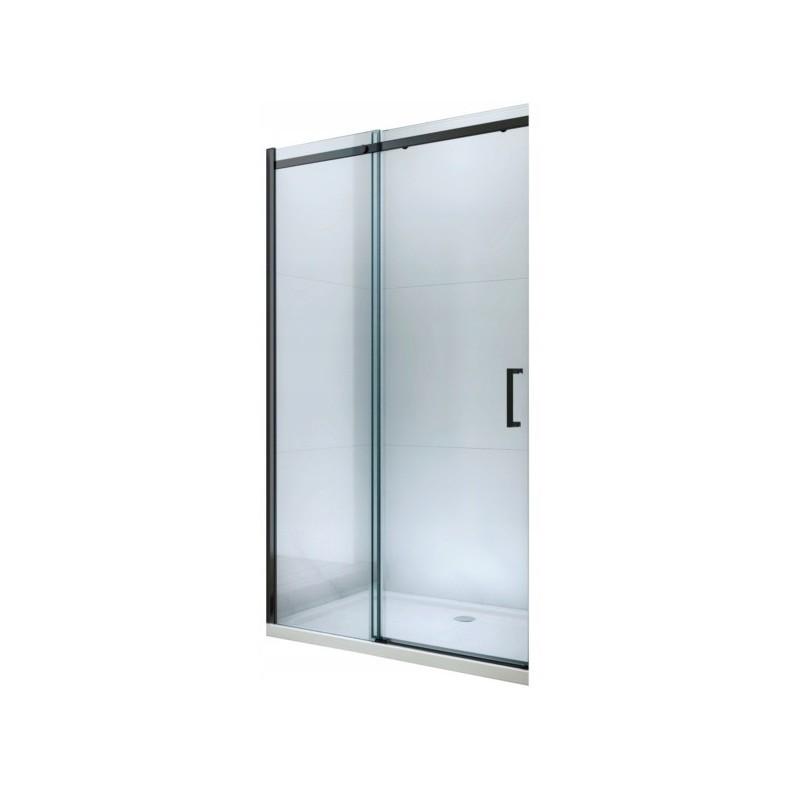 Sprchové dveře MEXEN OMEGA černé 110 cm