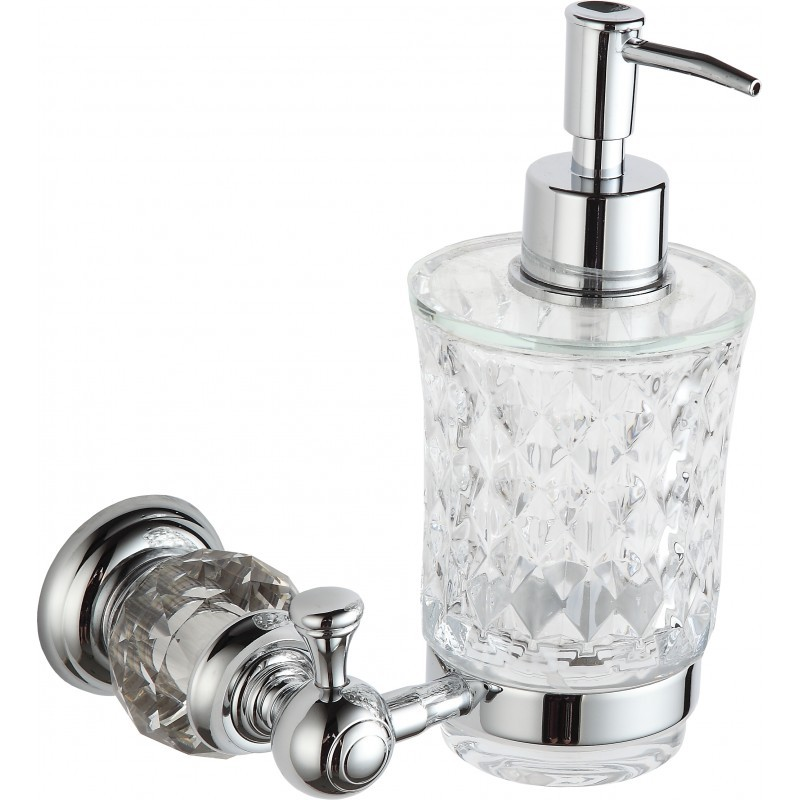 Dávkovač mýdla MEXEN ESTELA stříbrný