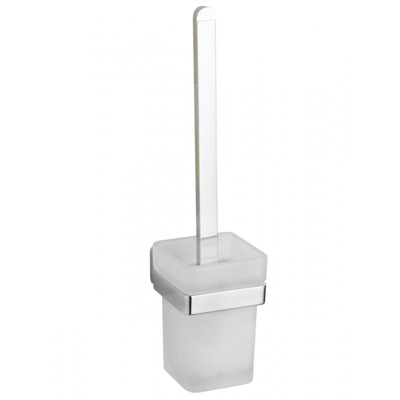 Držák na WC kartáč MEXEN ASIS stříbrný