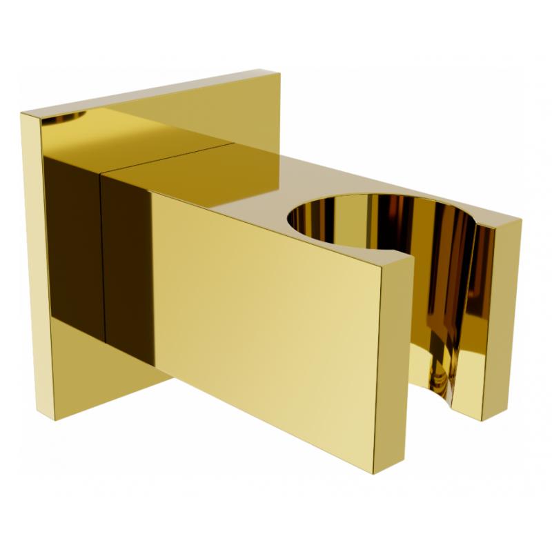 Sprchový držák MEXEN CUBE TRINA zlatý
