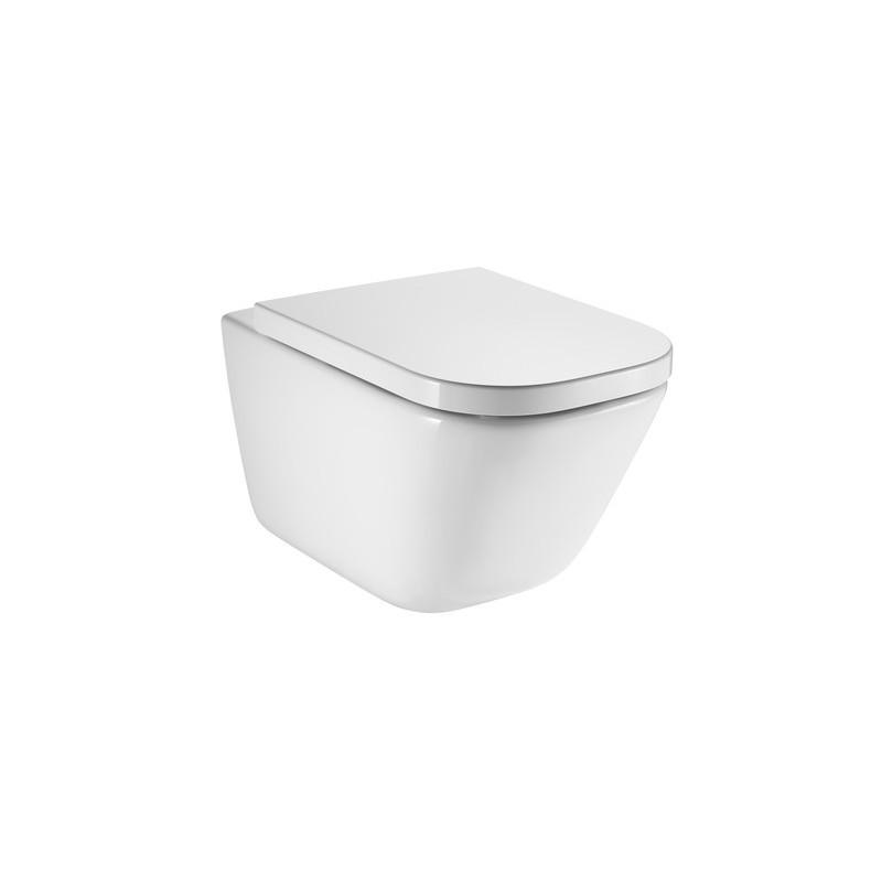 Závesná WC misa ROCA GAP + doštička LOLO